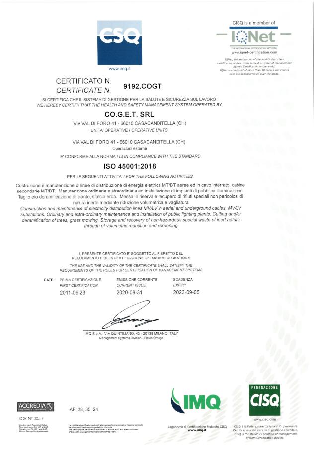 Certificato-ISO45001